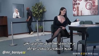 سكس نيك انجيلا وايت مترجم | زنجي ينيكها بعلم الزوج أنبوب الجنس العربي